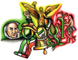 Google Logo: Mexico independence bicentennial eve - Doodle4Google
