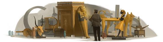 138º cumpleaños de Howard Carter