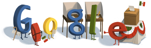 Google Logo: Mexican general election - 2012