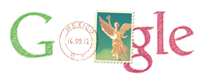 Google Logo: Mexico independence day - 2012