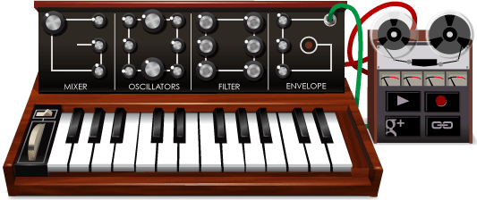 78� cumplea�os de Robert Moog