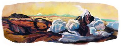Google Logo: José María Velasco Gómez 172th birthday - Mexican painter