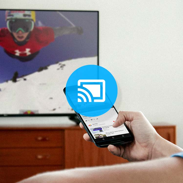 how to connect chromecast device to tv