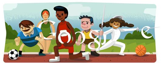 logo de google londres 2012