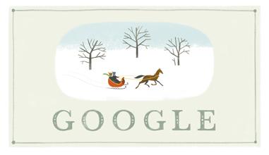 Google te desea felices fiestas